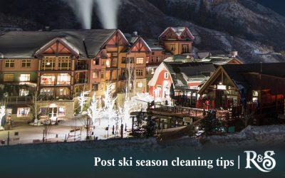 Post Ski Season Cleaning