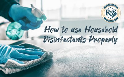 How to use Household Disinfectants Properly