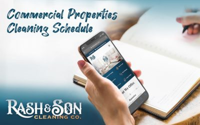 Commercial Properties Cleaning Schedule