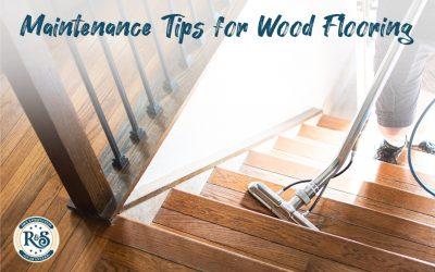 Maintenance for Hardwood Flooring